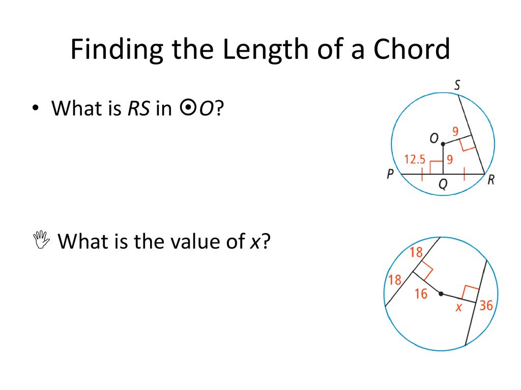 What Is A Chord 12 1 Tangent Lines Ppt Download