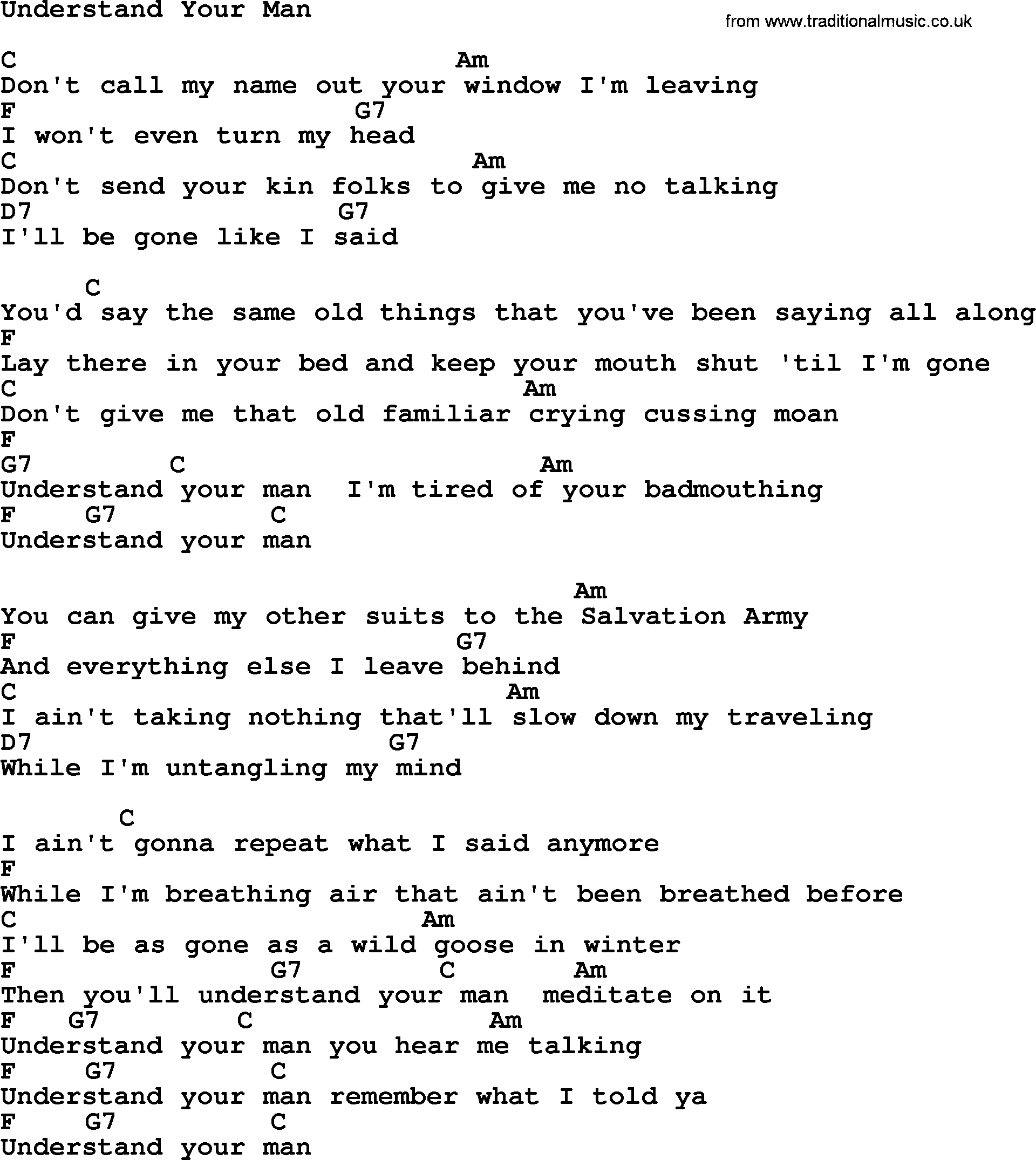When I Was Your Man Chords Johnny Cash Song Understand Your Man Lyrics And Chords