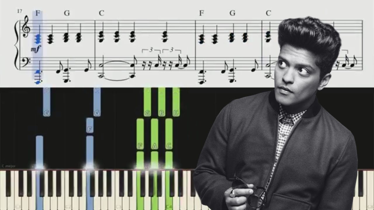 When I Was Your Man Chords When I Was Your Man Bruno Mars Piano Tutorial Chords