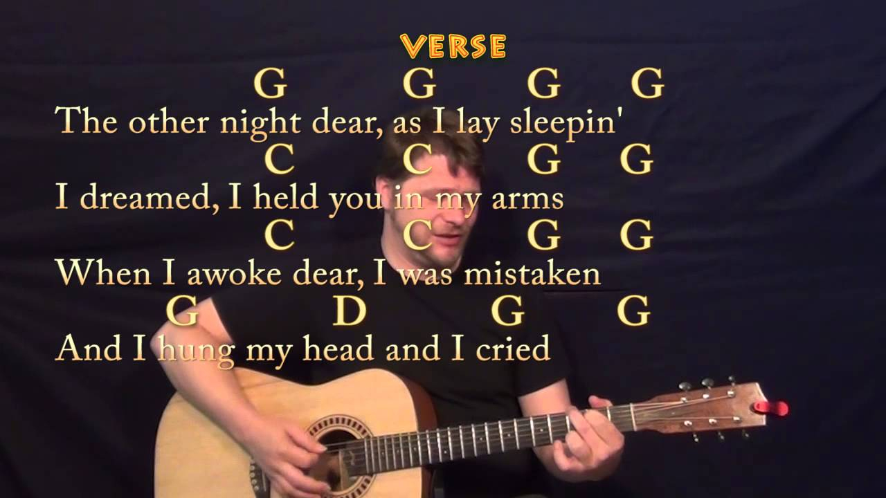 You Are My Sunshine Chords You Are My Sunshine Traditional Guitar Strum Cover Lesson With Chords Lyrics