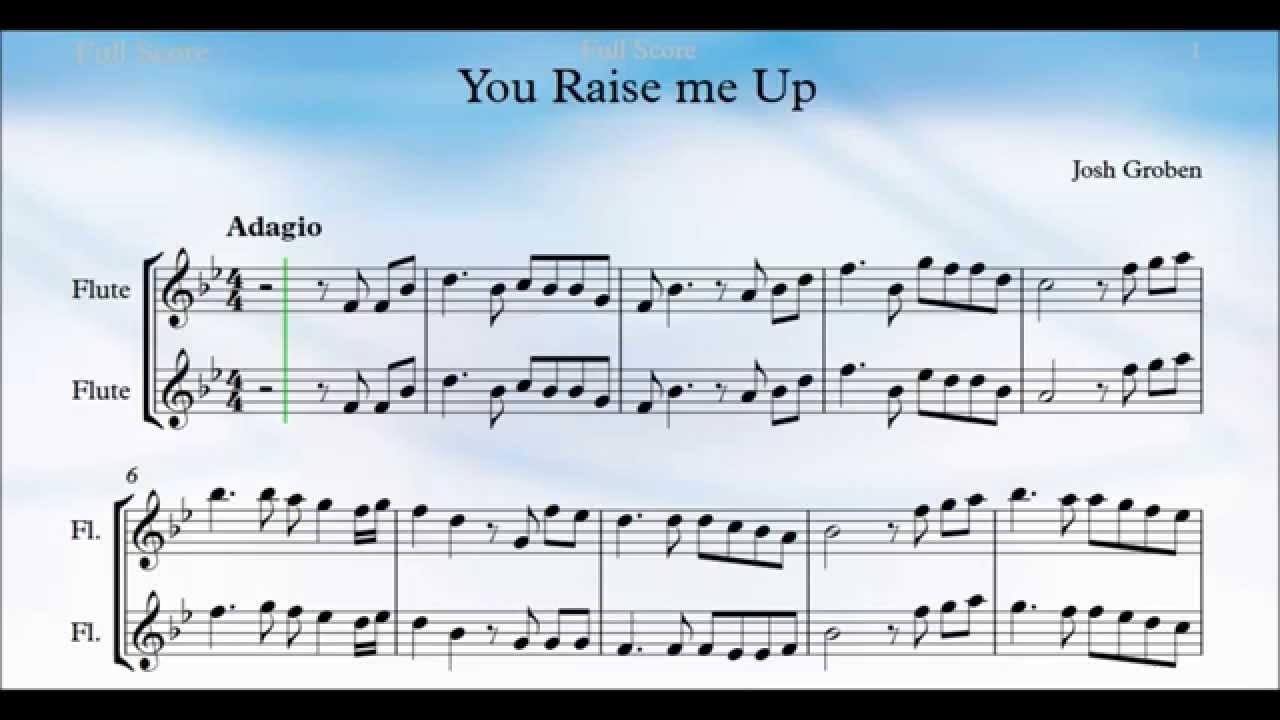 You Raise Me Up Chords You Raise Me Up Flute Chords Chordify