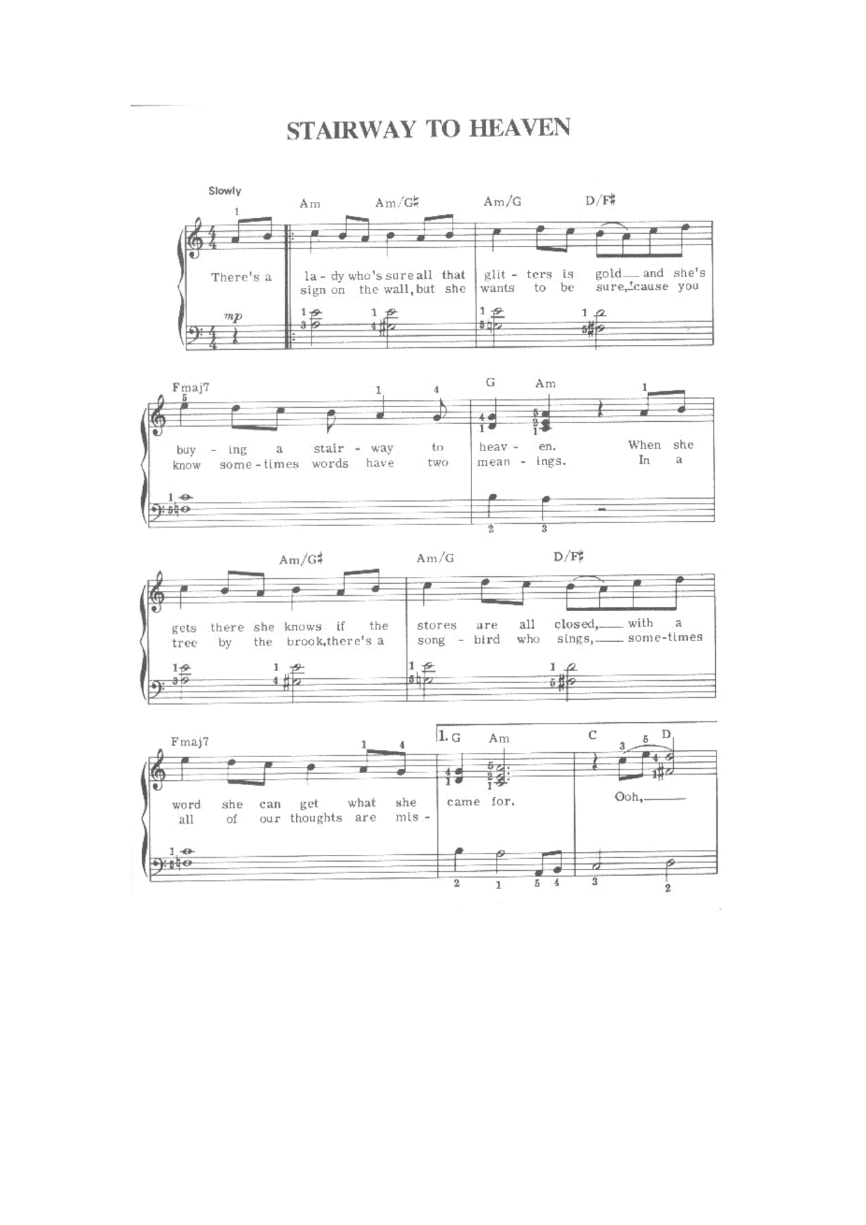 Your Song Chords Elton John Your Song Piano Chords My Piano Keys