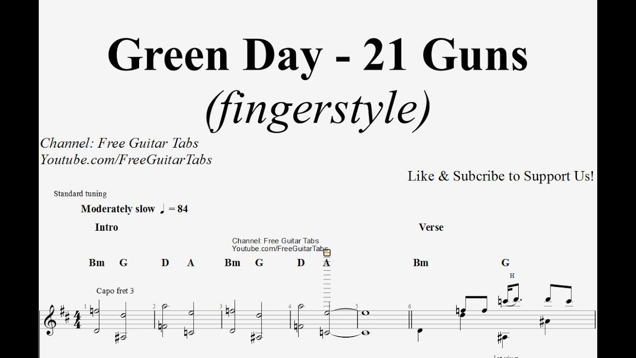 21 Guns Chords 21 Guns Chords Piano