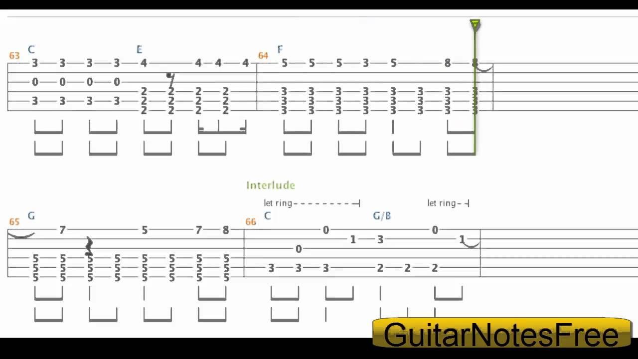 21 Guns Chords 21 Guns Green Day Guitar Tabchord Hd