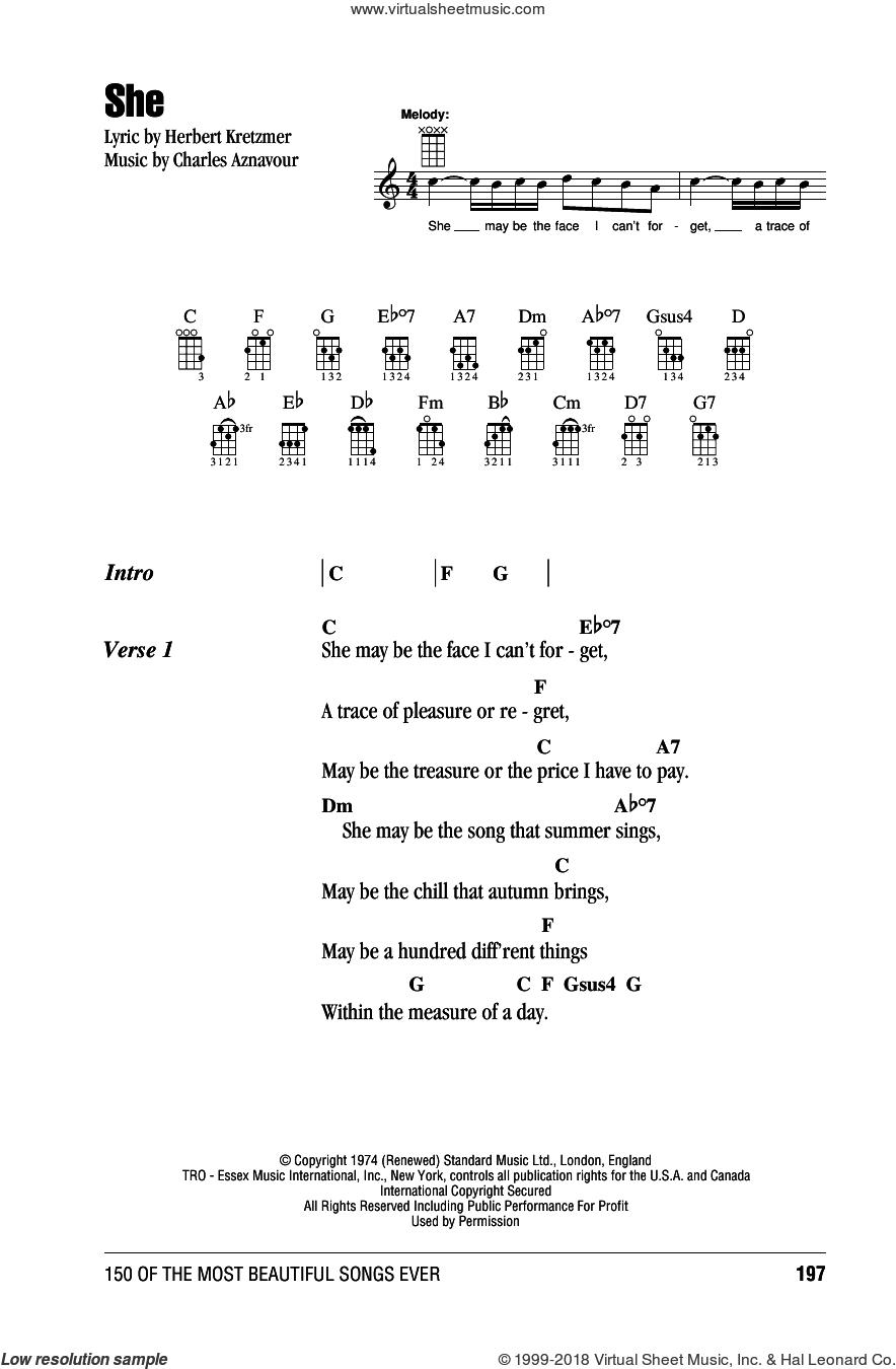 21 Guns Chords Costello She Sheet Music For Ukulele Chords Pdf