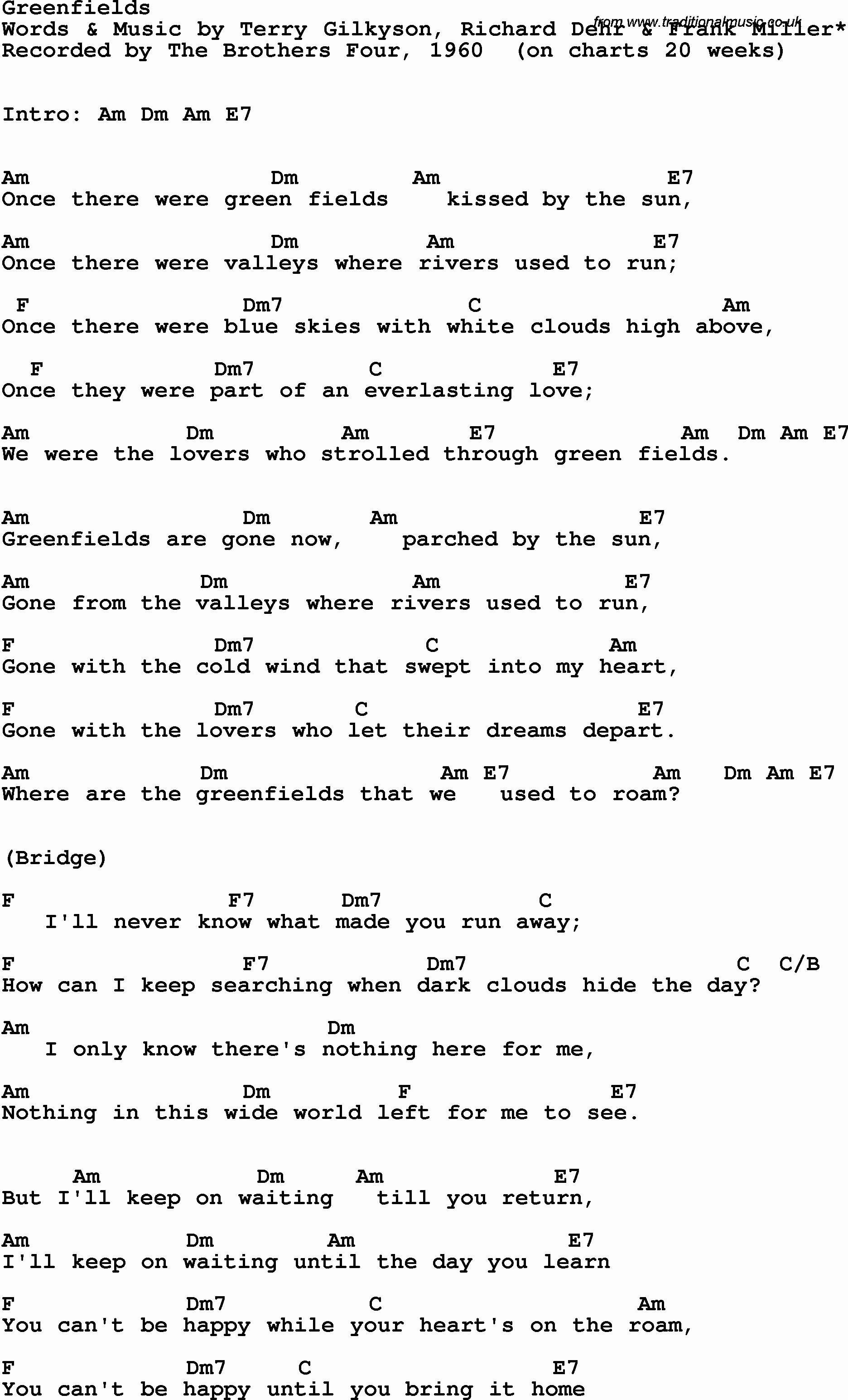21 Guns Chords Green Day Chords Accomplice Music