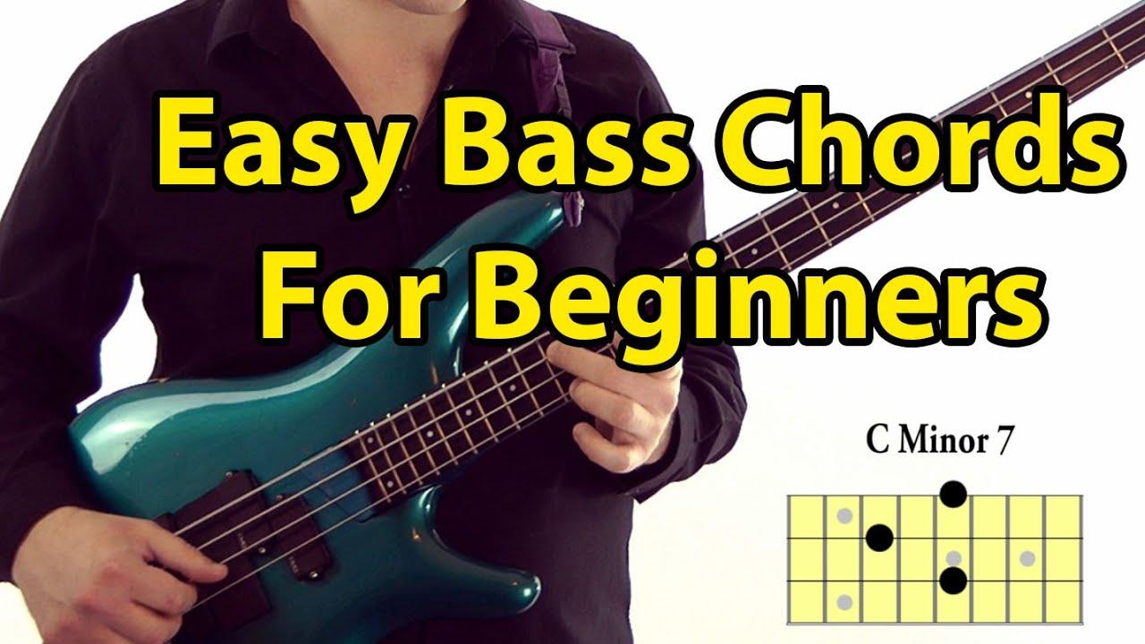 Bass Guitar Chords Easy Bass Guitar Chords For Beginners