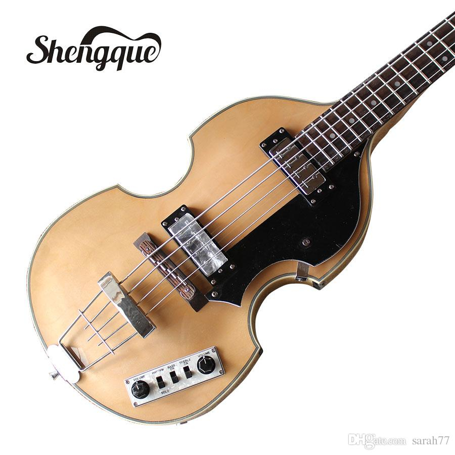 Bass Guitar Chords Free Shipping Factroy Custom Hofner Violin Bass Guitar Bb2 4 Strings Electric Bass Guitar With Rosewood Fingerboard Musical Instruments Shop