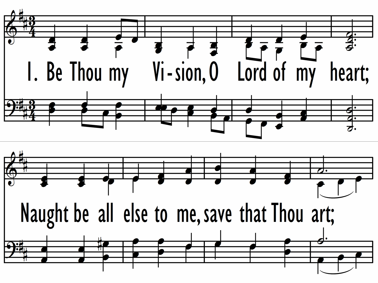 Be Thou My Vision Chords Baptist Hymnal 2008 83 Be Thou My Vision O Lord Of My Heart