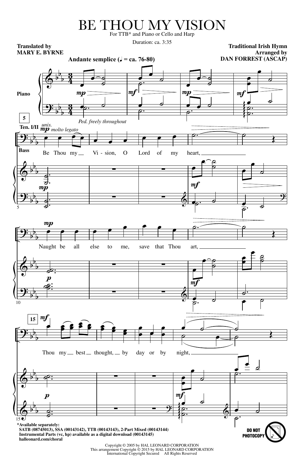 Be Thou My Vision Chords Be Thou My Vision Sheet Music To Download