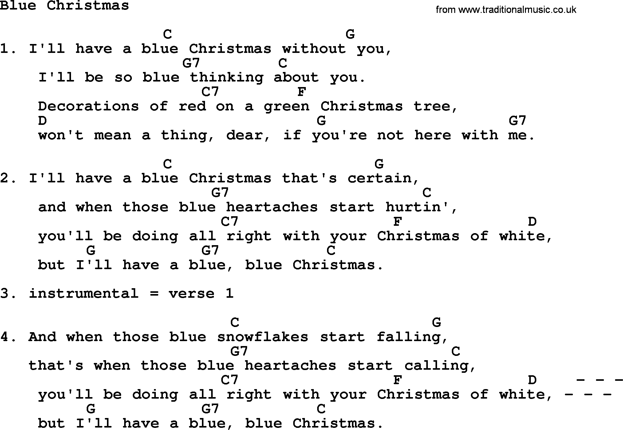 Blue Christmas Chords Loretta Lynn Song Blue Christmas Lyrics And Chords