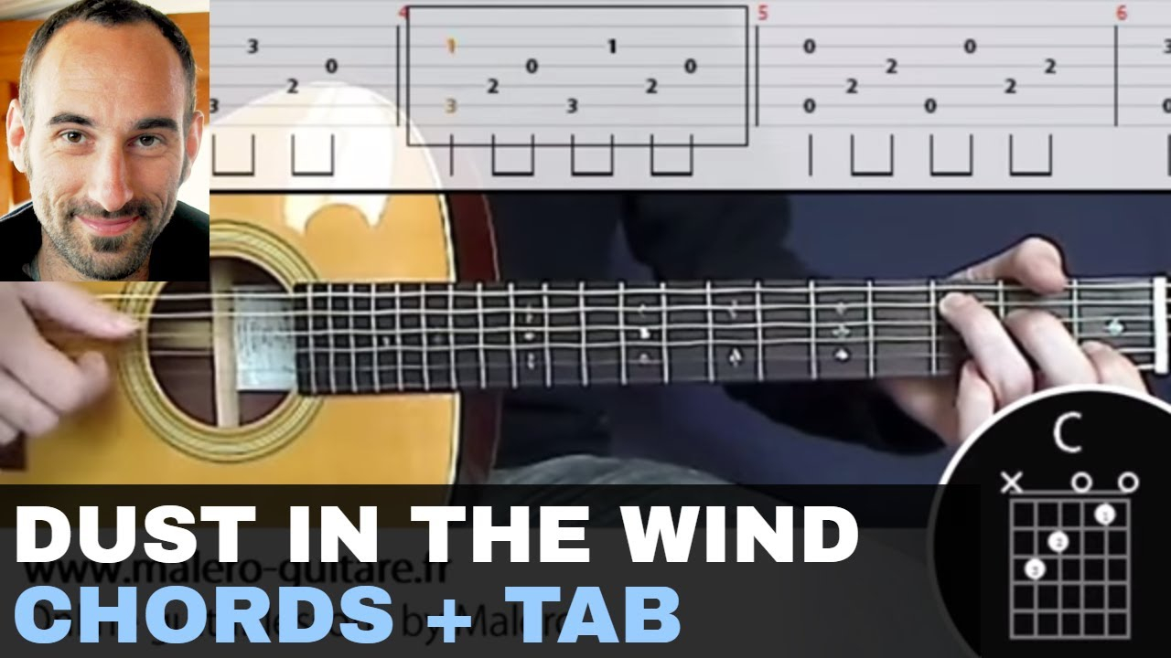 Dust In The Wind Chords Dust In The Wind Training Track Guitar Tab Chords