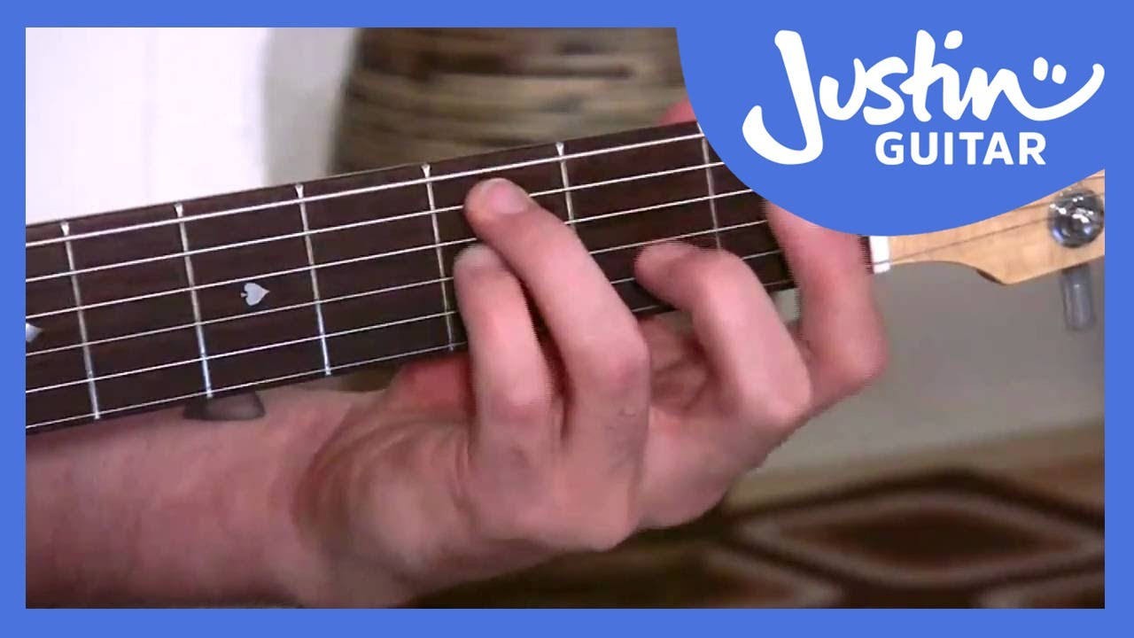 F Chord On Guitar The Dreaded F Chord Justinguitar