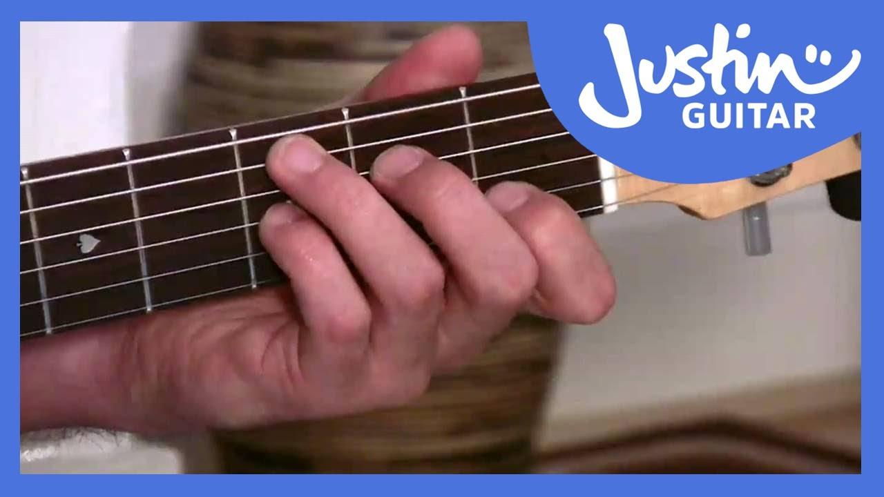 F Chord On Guitar The F Maj7 Chord Justinguitar