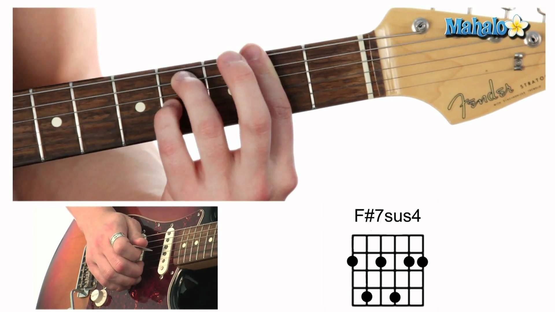 F# Guitar Chord F Chord Guitar Accomplice Music