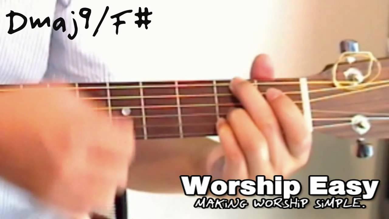 F# Guitar Chord Video The Dmaj9f Chord Guitar