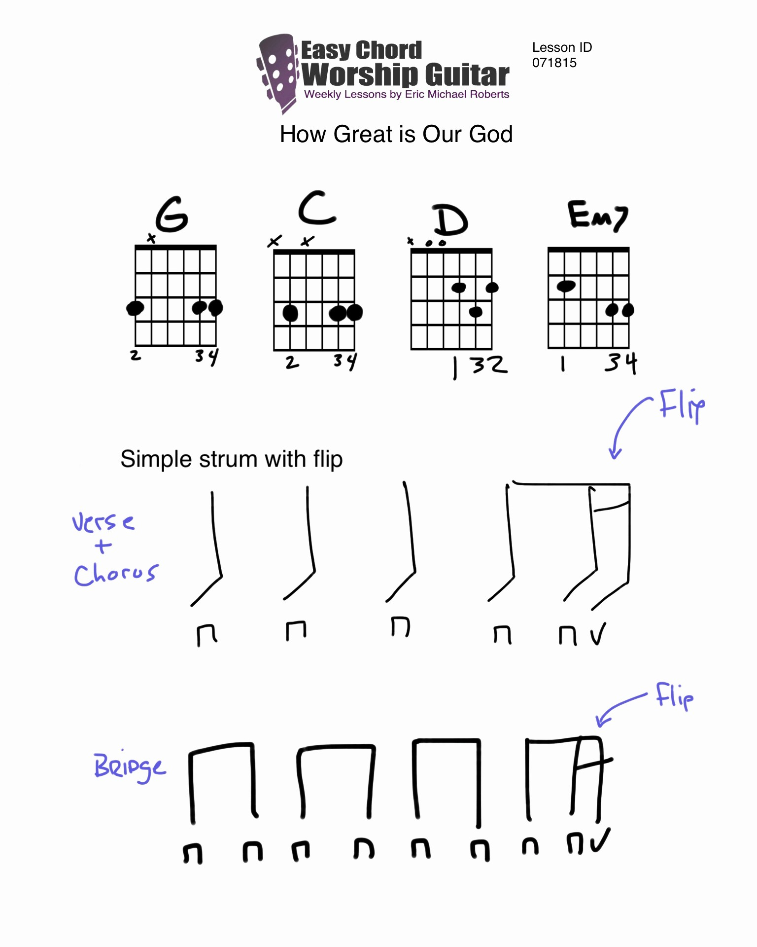 Four Chord Song 4 Chords Guitar Accomplice Music