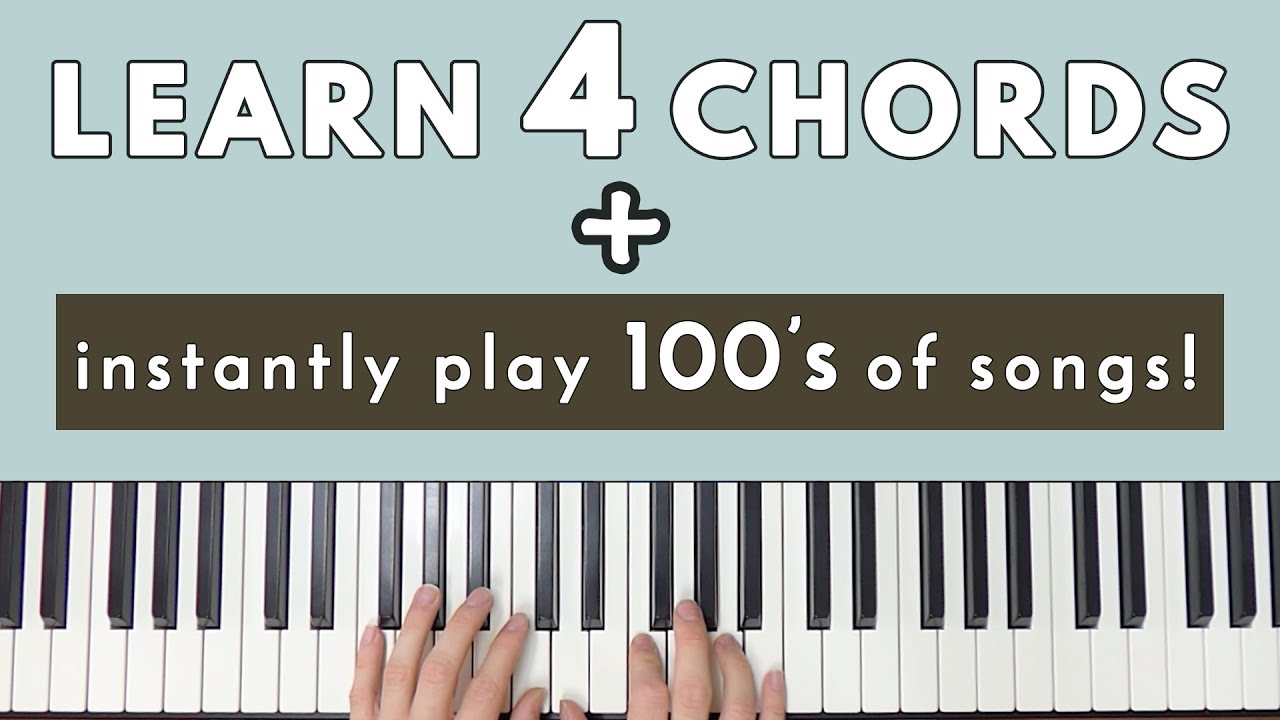 Four Chord Song Learn 4 Chords Instantly Be Able To Play Hundreds Of Songs