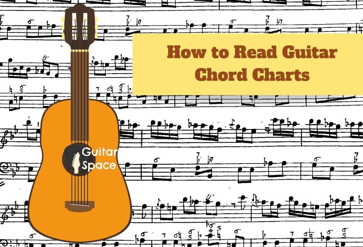 Guitar Chords Chart How To Read Guitar Chord Charts Guitar Space