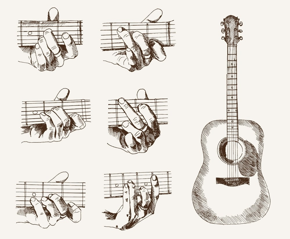 Guitar Chords For Beginners Chord Changing Exercises How To Smoothly Change Your Chords