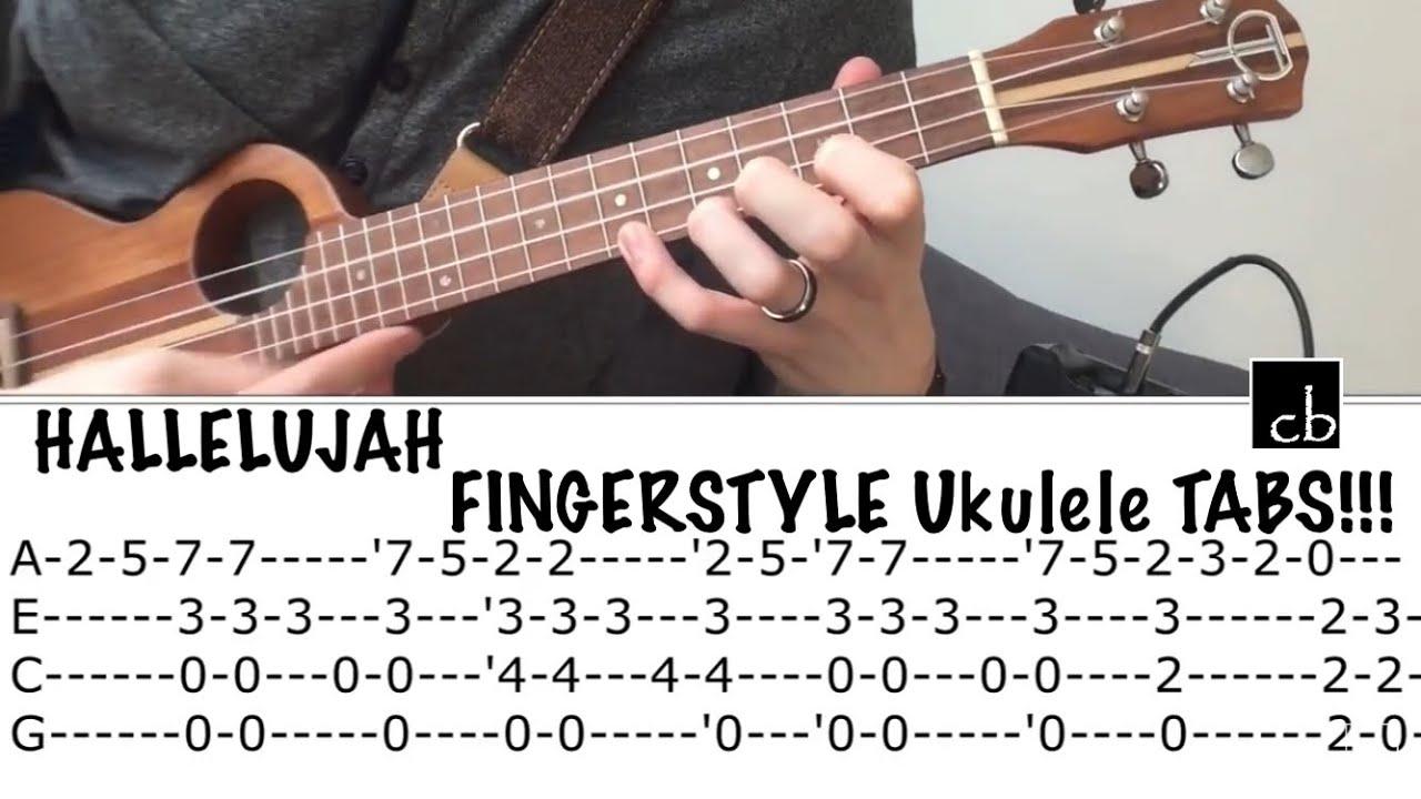 Hallelujah Ukulele Chords Hallelujah Fingerstyle Ukulele Tutorial