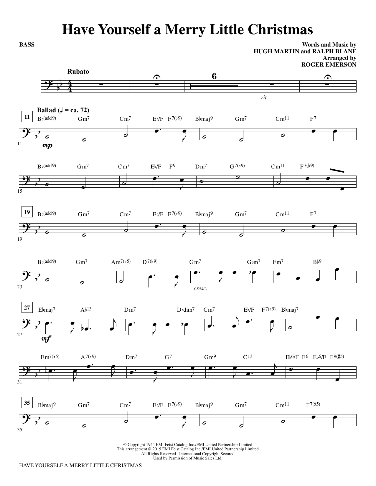Have Yourself A Merry Little Christmas Chords Have Yourself A Merry Little Christmas