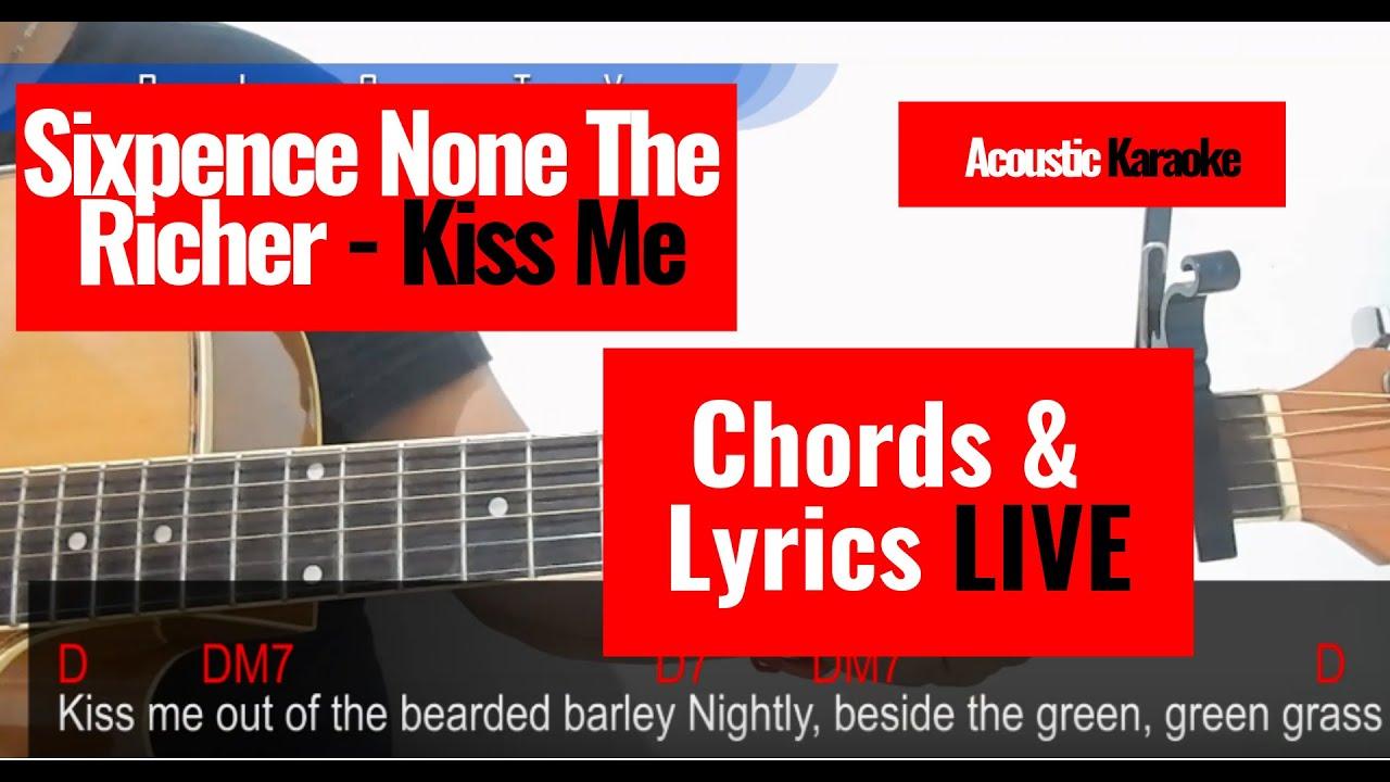 Kiss Me Chords So Kiss Me