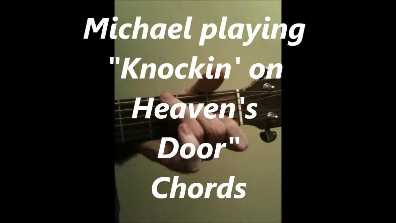 Knocking On Heavens Door Chords Knockin On Heavens Door Chords