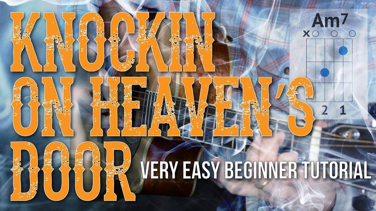 Knocking On Heavens Door Chords Knockin On Heavens Door Easy Guitar Tutorial Bob Dylan Guitar Lesson Easy Chordsstrumming