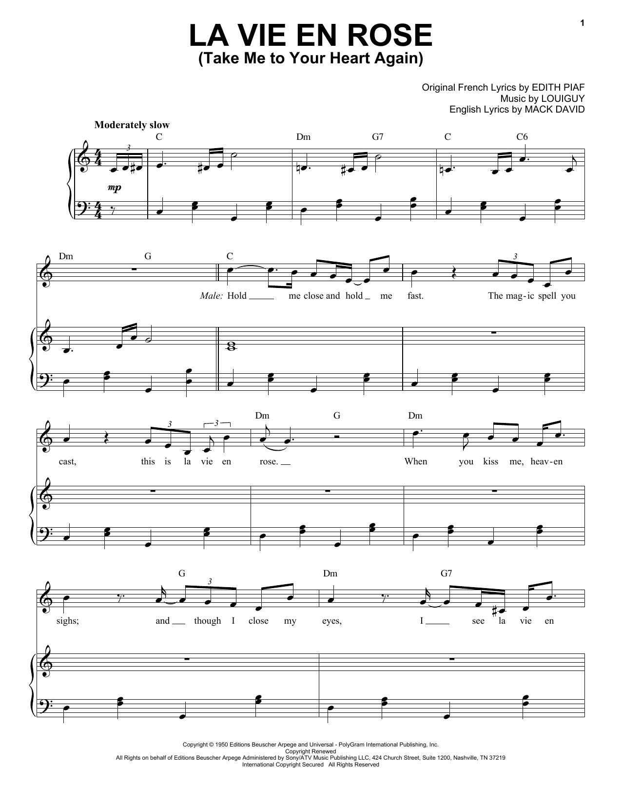 La Vie En Rose Chords La Vie En Rose Feat Ccile Mclorin Salvant
