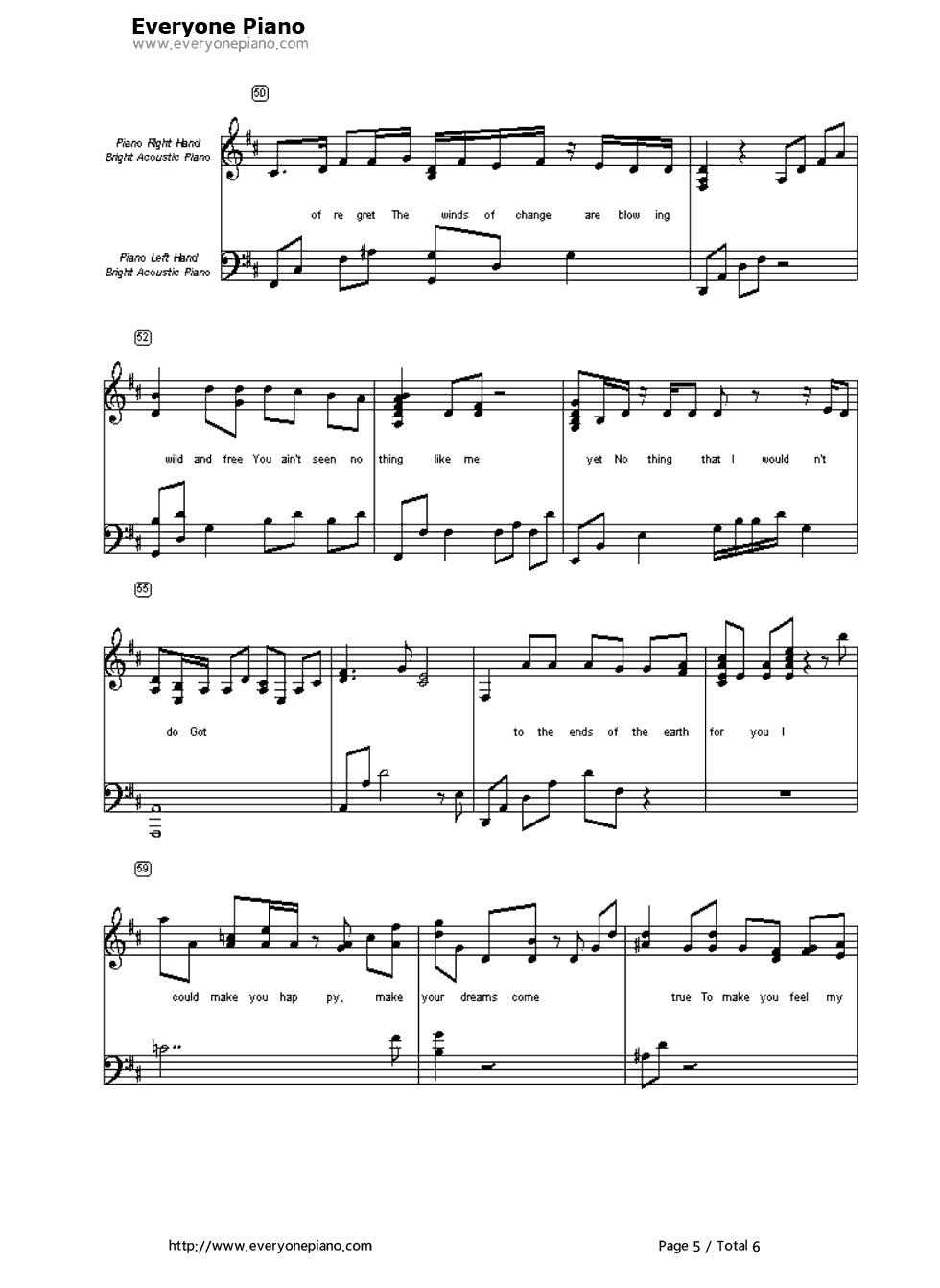 Make You Feel My Love Chords To Make You Feel My Love Garth Brooks Free Piano Sheet Music Piano