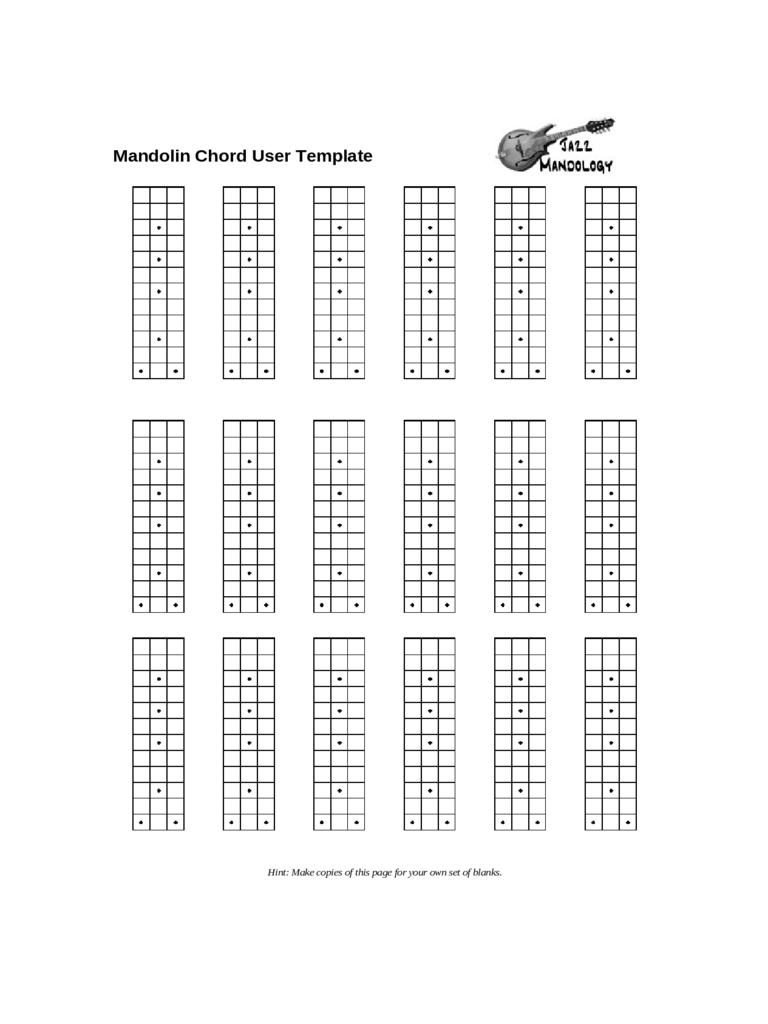 Mandolin Chord Chart 13 Finger Mandolin Chord Poster And Chart Madolin Chord Chart