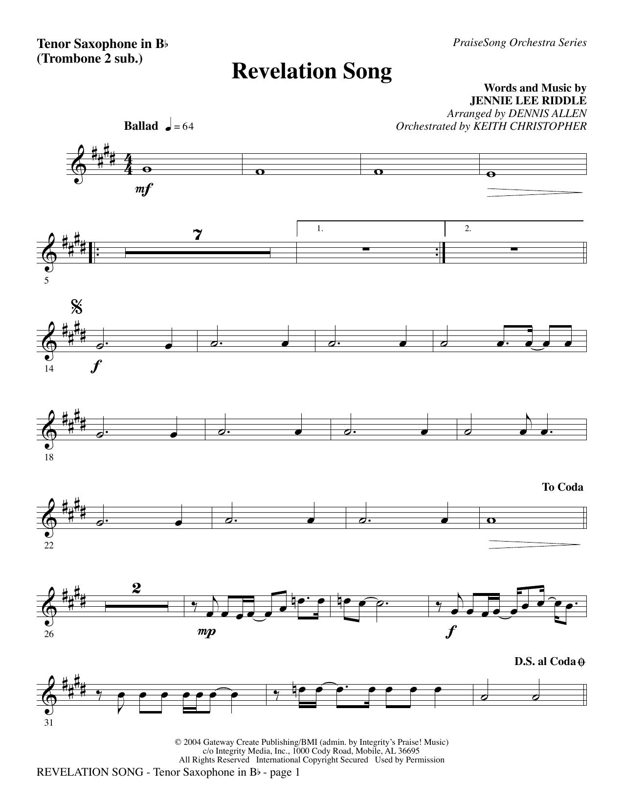 Revelation Song Chords Revelation Song