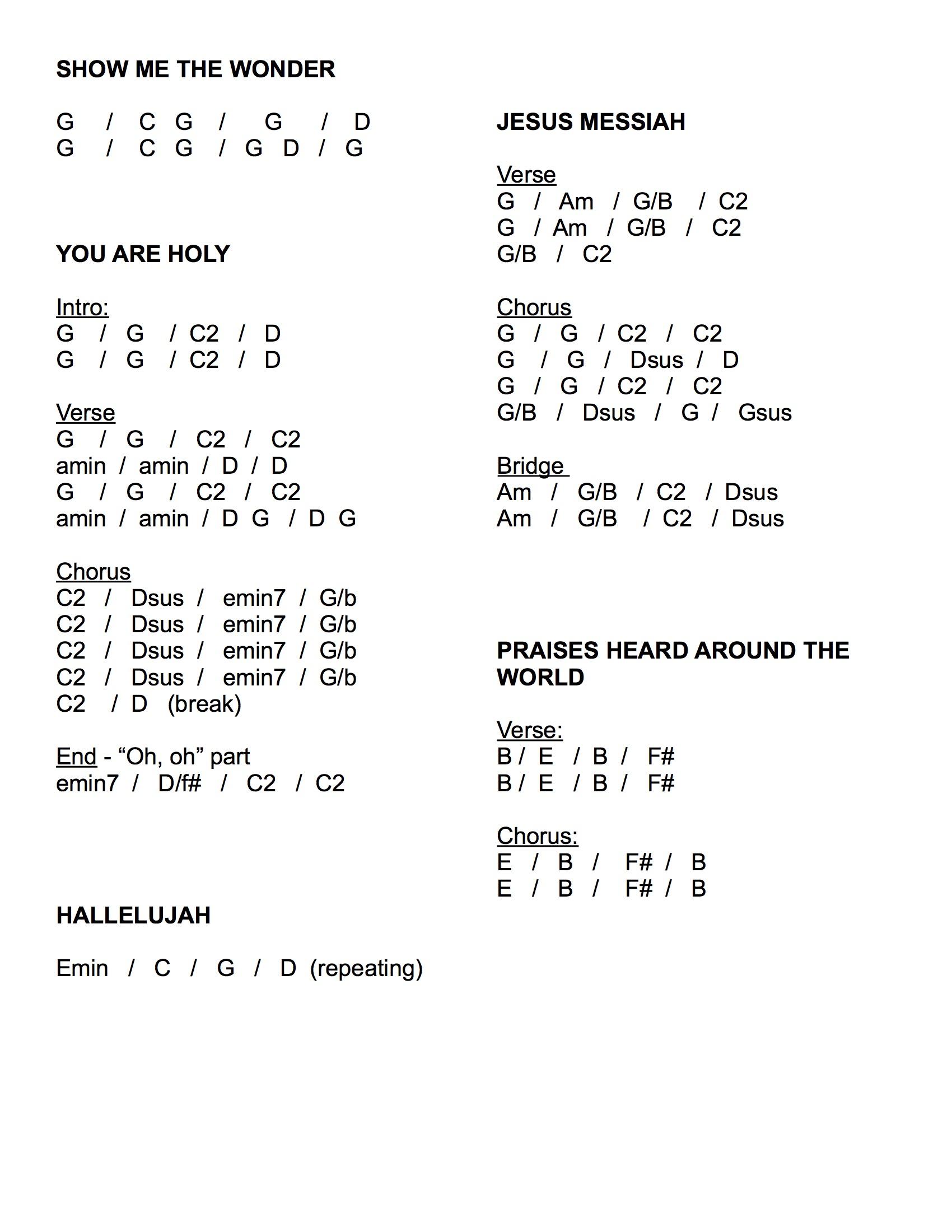 Revelation Song Chords Uncategorized Monday Morning Music