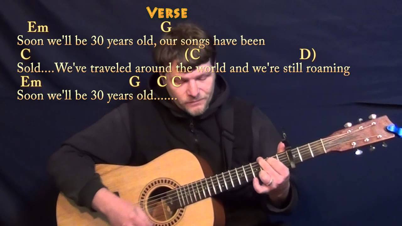 Seven Years Chords 7 Years Lukas Graham Guitar Cover Lesson With Chordslyrics Capo 3rd