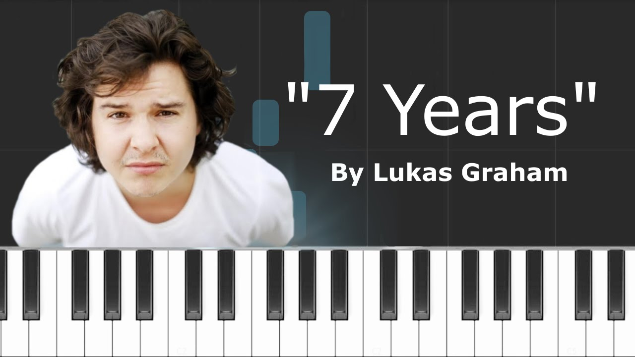 Seven Years Chords Lukas Graham 7 Years Piano Tutorial Chords How To Play Cover