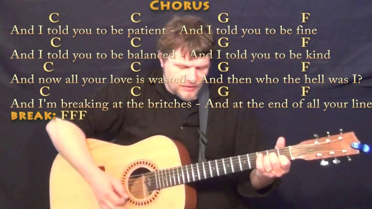 Skinny Love Chords Skinny Love Bon Ivers Strum Guitar Cover Lesson With Chordslyrics