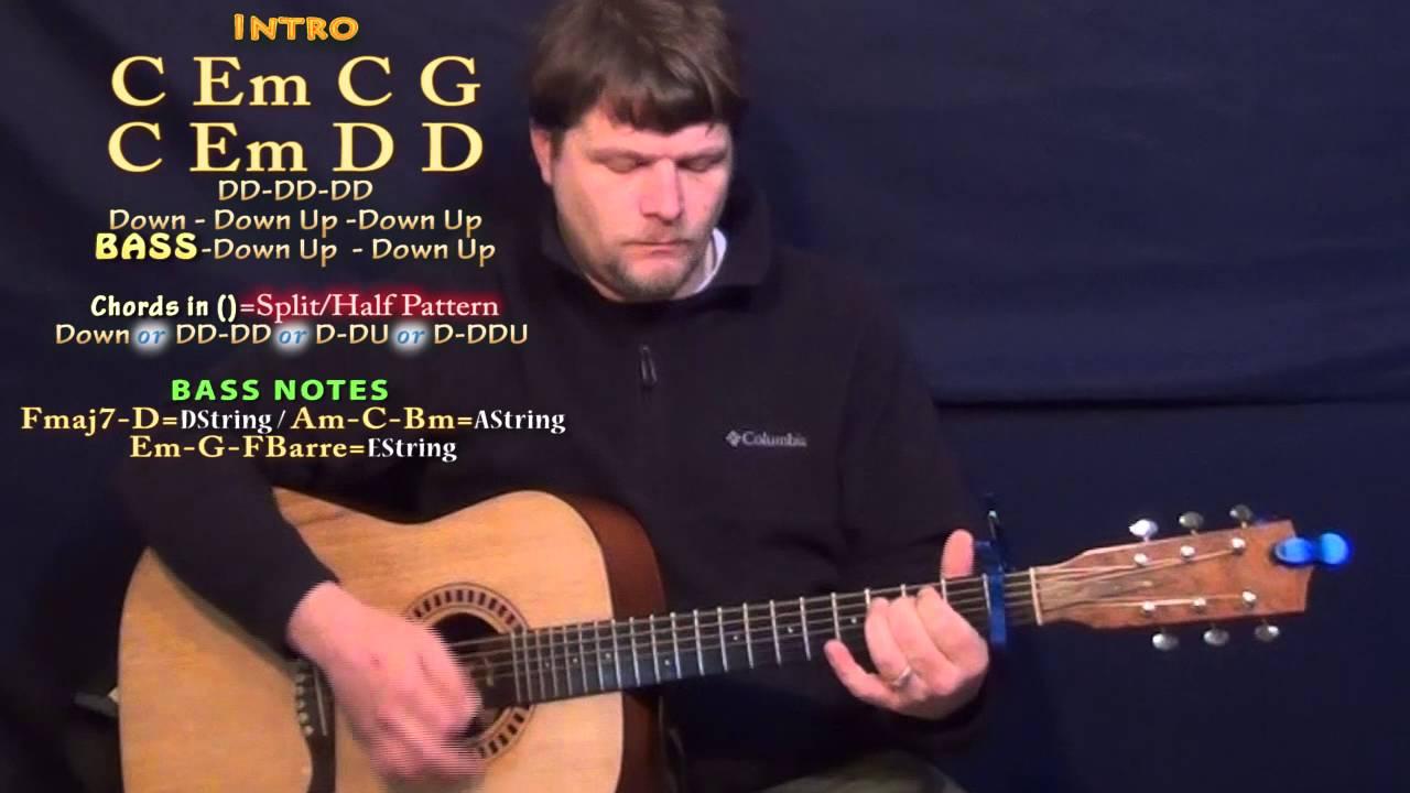 Stone Cold Chords Stone Cold Demi Lovato Guitar Lesson Chord Chart Capo 1st
