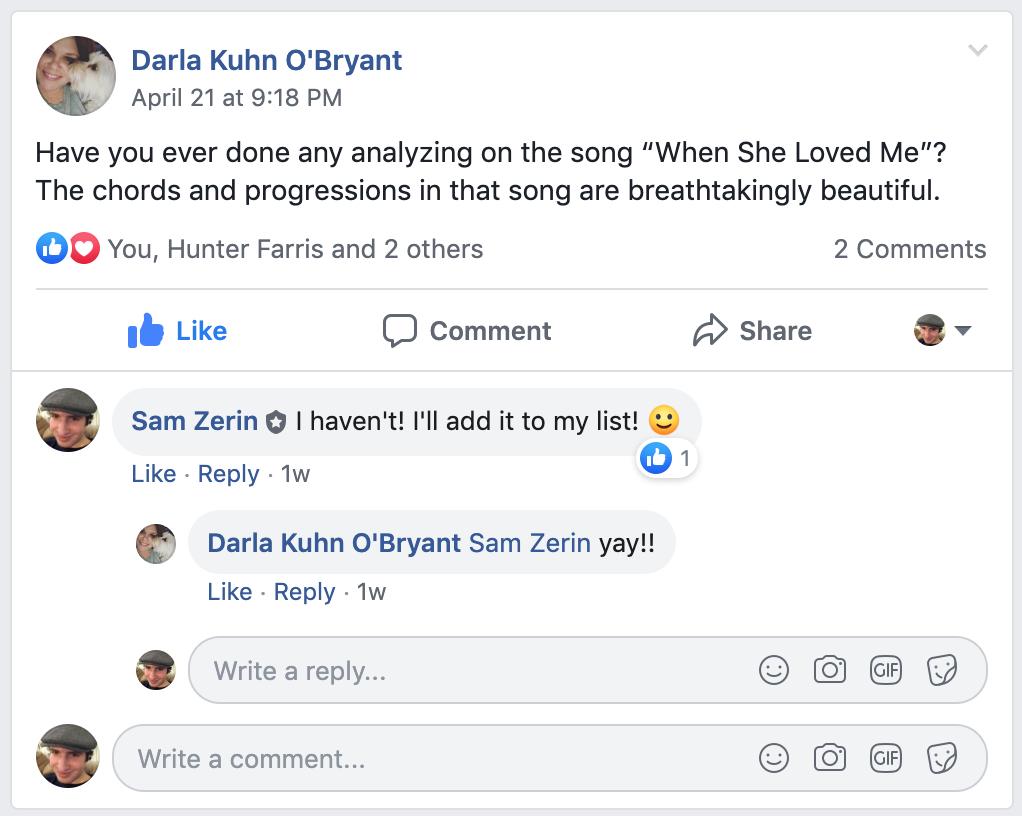 Story Of My Life Chords Disney Music Theory Blog