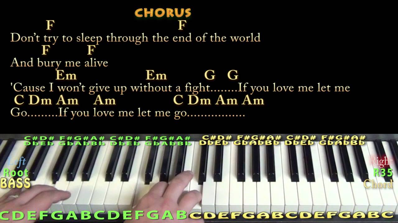 This Is Gospel Piano Chords This Is Gospel Panic At The Disco Piano Cover Lesson In C With Chordslyrics
