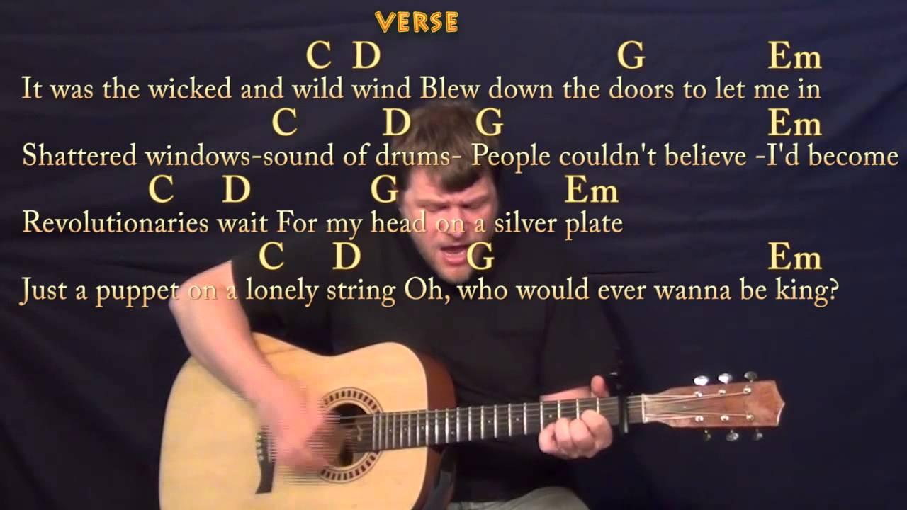 Viva La Vida Chords Viva La Vida Coldplay Strum Guitar Cover Lesson With Chords Lyrics