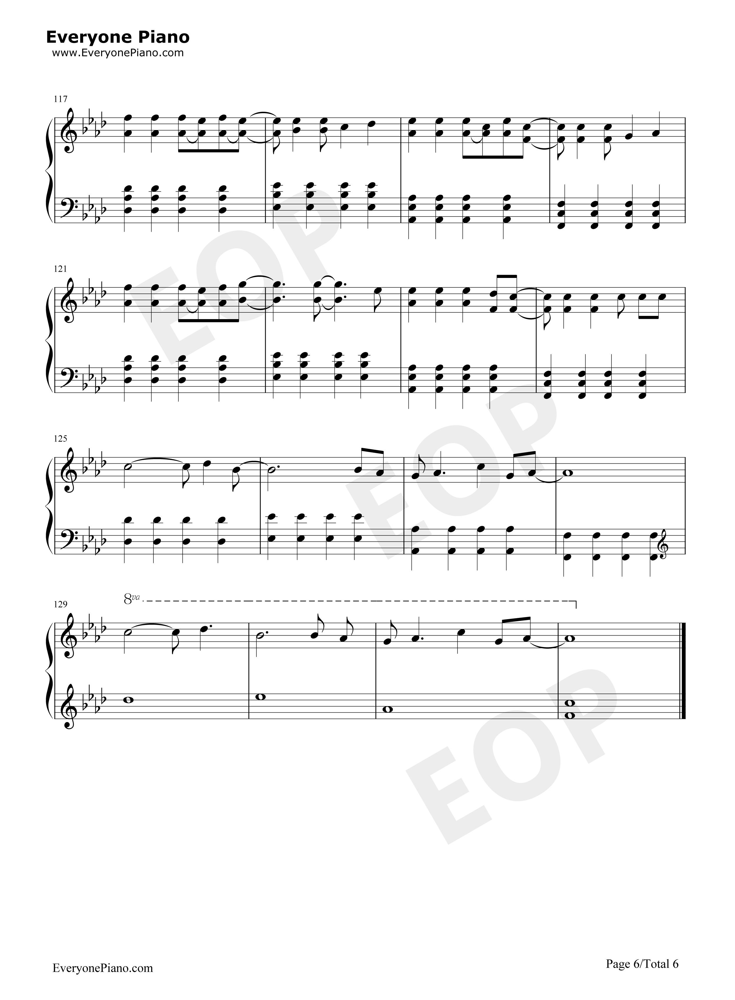 Viva La Vida Chords Viva La Vida Free Piano Sheet Music Piano Chords