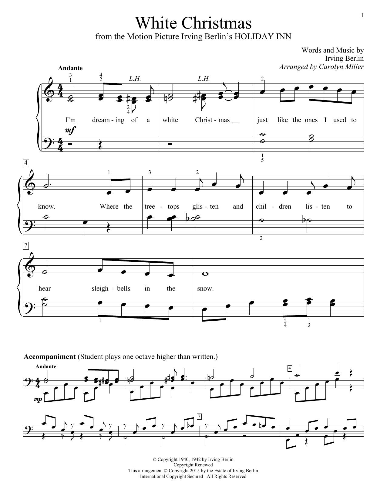White Christmas Chords White Christmas Irving Berlin