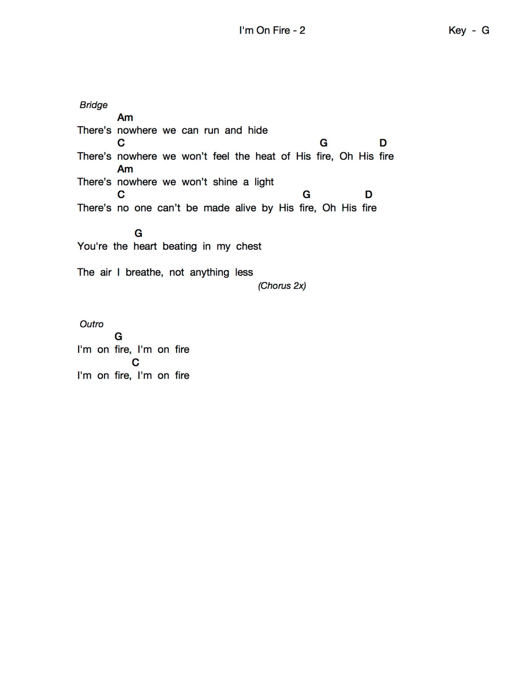 You Won T Relent Chords Im On Fire Wordworship Mp3 Downloads Streaming Music Lyrics
